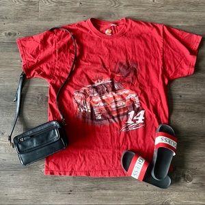 NASCAR 14 Red Racing Tee